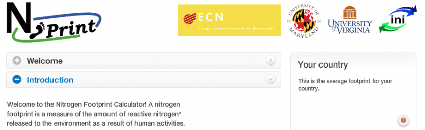 Calculate Your Nitrogen Footprint